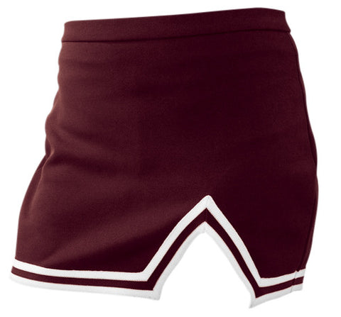 Pizzazz A-Line Uniform Skirts - Maroon
