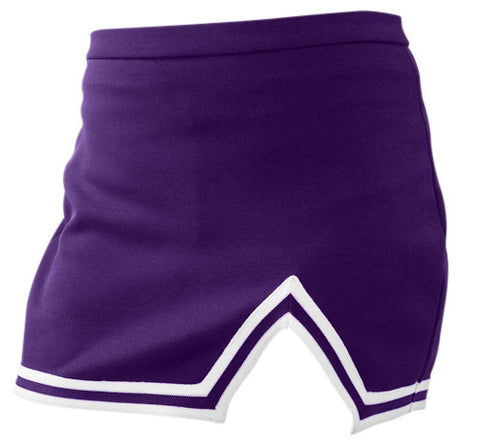 Pizzazz A-Line Uniform Skirts - Purple