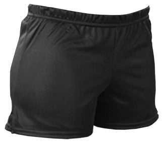 Pizzazz Mesh Shorts - Black
