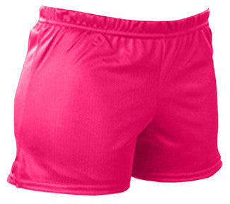 Pizzazz Mesh Shorts - Hot Pink
