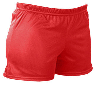 Pizzazz Mesh Shorts - Red