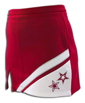 Pizzazz SuperNova Uniform Skirts - Red White