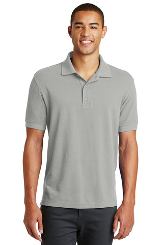 Eddie Bauer EB100 Cotton Pique Polo - Chrome - HIT A Double