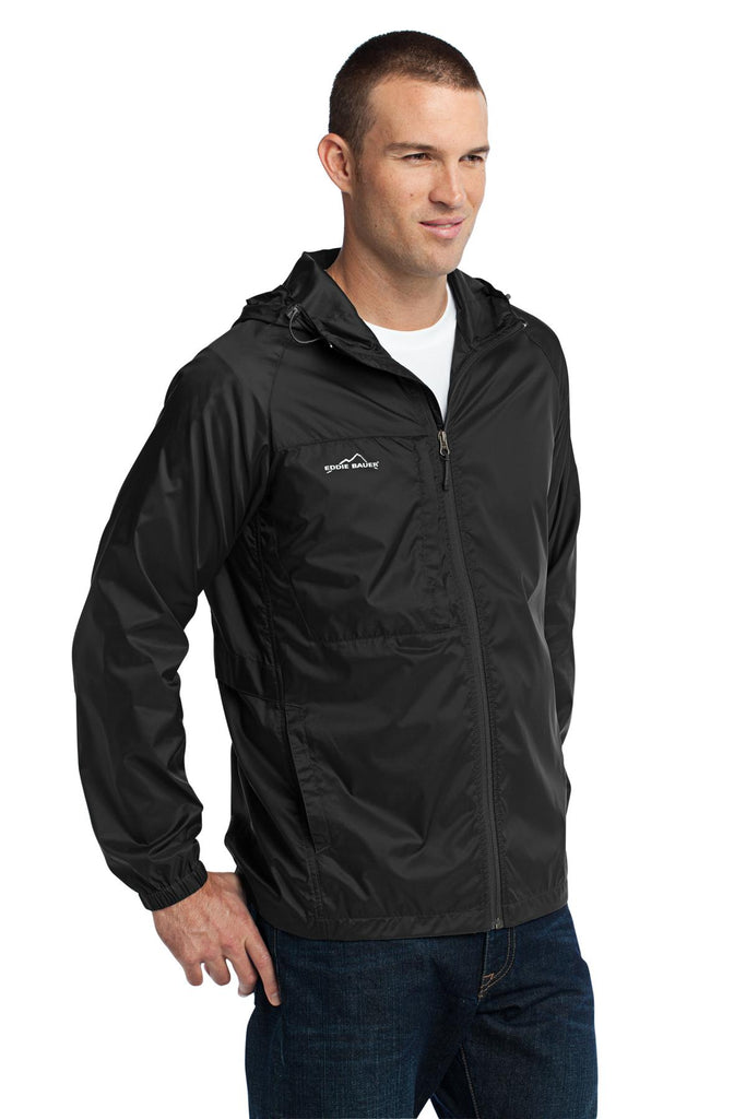 Eddie Bauer EB500 Packable Wind Jacket - Black - HIT A Double