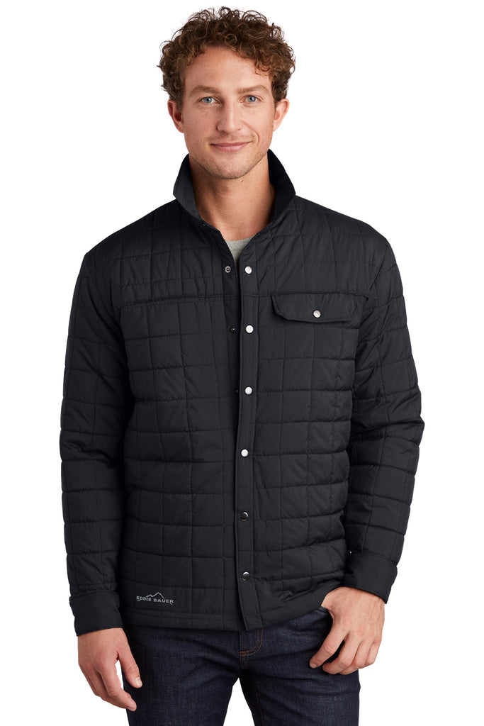 Eddie Bauer EB502 Shirt Jacket - Black - HIT A Double