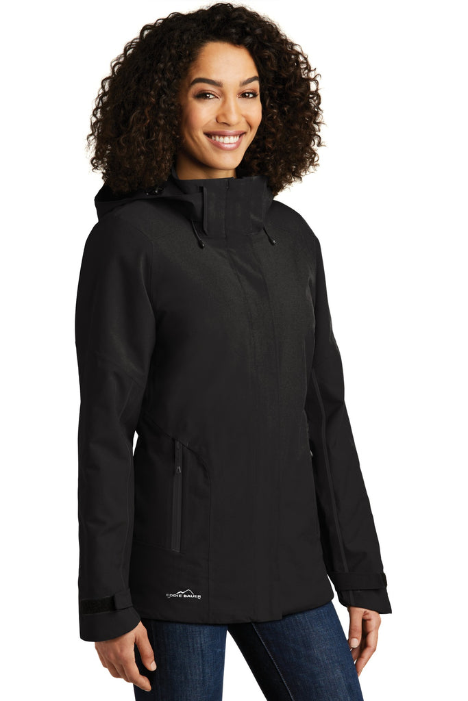 Eddie Bauer EB555 Ladies Weatheredge Plus Insulated Jacket - Black - HIT A Double