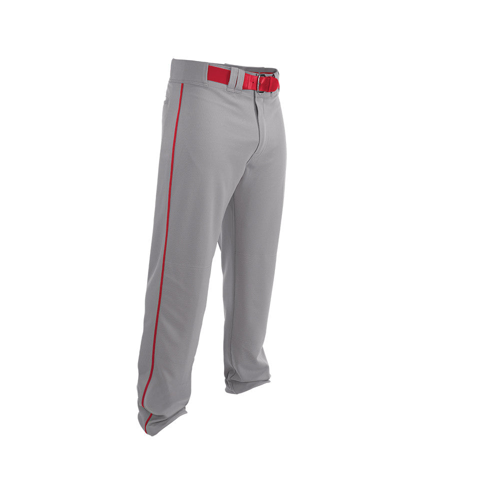 2d6f2c8e2e5 Easton Adult Rival 2 Piped Baseball Pants - Gray Red – HIT A Double