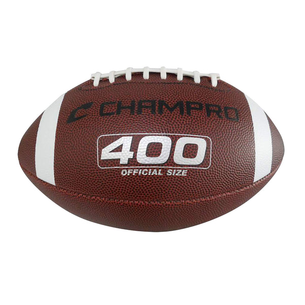 "Champro FB4 ""400"" Composite Cover Football - HIT A Double"