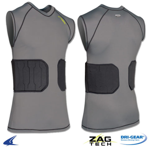 Champro FJU8 Bionic Compression Shirt - Gray
