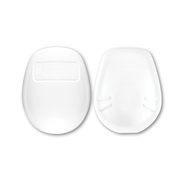 Champro FKPUL Ultra Light Insert Knee Pad Pair - White