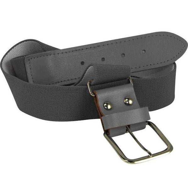 Twin City Adjustable Elastic Baseball Belts - Graphite
