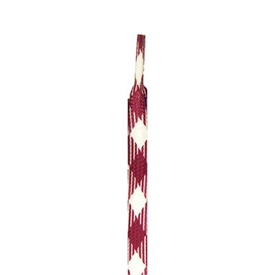 Pennant L715 Laces - Maroon Plaid