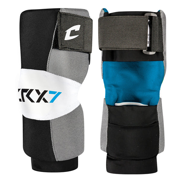 Champro LAP Lrx7 Lacrosse Arm Pad Pair - Gray - HIT A Double
