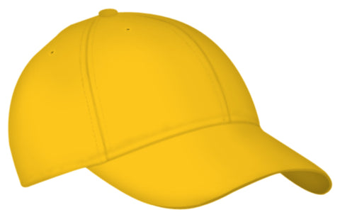 Alleson 3CCTA Adult Six Panel Baseball Cap - Gold