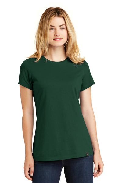 New Era LNEA100 Ladies Heritage Blend Crew Tee - Dark Green