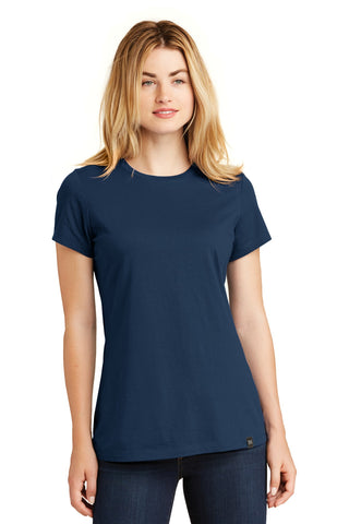 New Era LNEA100 Ladies Heritage Blend Crew Tee - Dark Royal