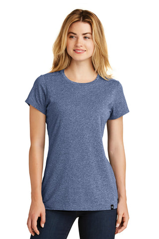 New Era LNEA100 Ladies Heritage Blend Crew Tee - Dark Royal Twist