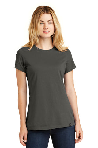 New Era LNEA100 Ladies Heritage Blend Crew Tee - Graphite