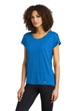 OGIO Endurance LOE324 Ladies Pulse Dolman Tee - Electric Blue - HIT A Double