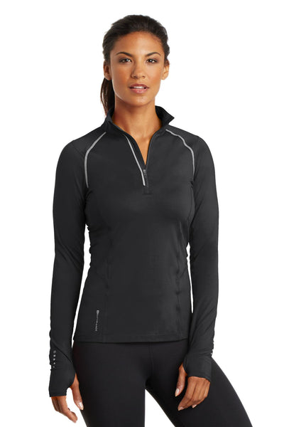 OGIO Endurance LOE335 Ladies Nexus 1/4-Zip Pullover - Blacktop - HIT A Double
