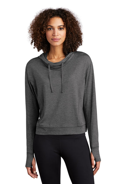 OGIO Endurance LOE342 Ladies Force Hoodie - Gear Gray Heather - HIT A Double