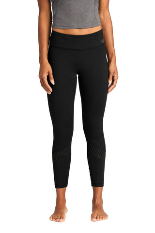 OGIO Endurance LOE402 Ladies Laser Tech Legging - Blacktop - HIT A Double