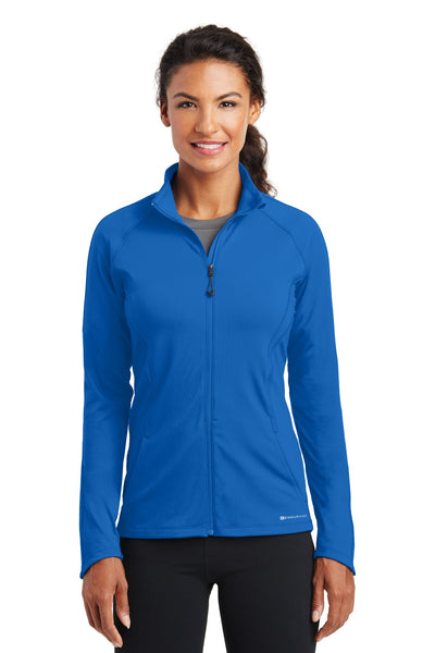 OGIO Endurance LOE551 Ladies Radius Full-Zip - Electric Blue - HIT A Double