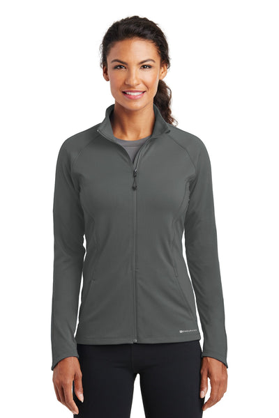 OGIO Endurance LOE551 Ladies Radius Full-Zip - Gear Gray - HIT A Double