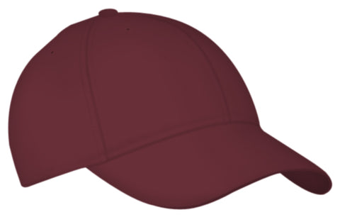 Alleson 3CCTY Youth Six Panel Baseball Cap - Maroon