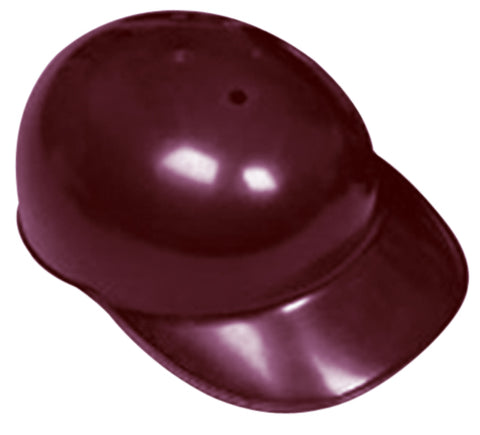 All-Star CH591 Baseball Coach/Catcher's Skull Cap - Maroon
