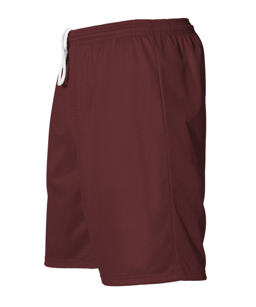 Alleson 566PY Youth Extreme Mesh Unisex Short - Maroon - HIT A Double