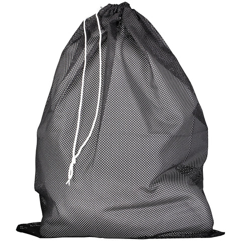 Russell MLB6B0 Mesh Laundry Bag - Black - HIT A Double