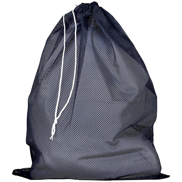 Russell MLB6B0 Mesh Laundry Bag - Navy - HIT A Double