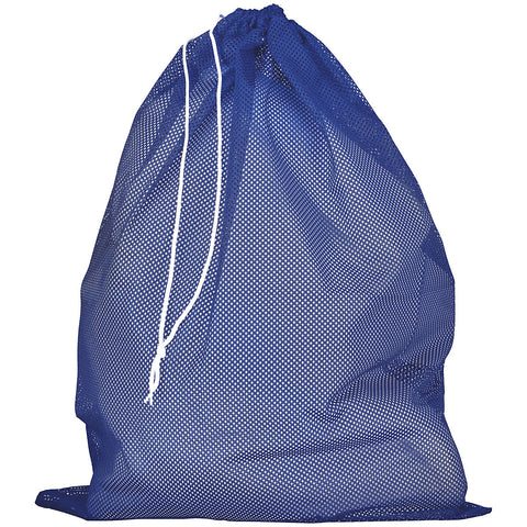 Russell MLB6B0 Mesh Laundry Bag - Royal - HIT A Double
