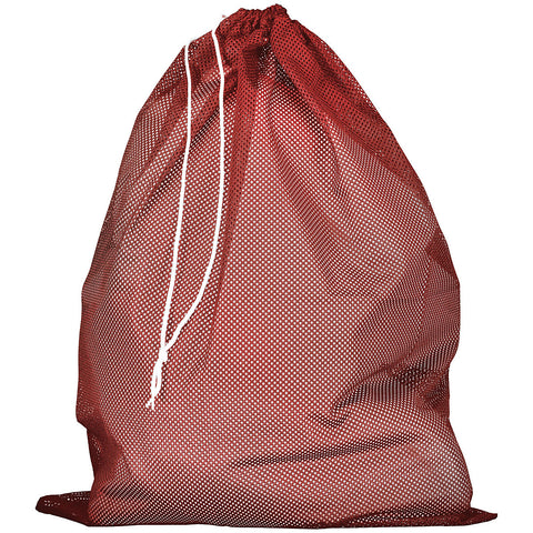 Russell MLB6B0 Mesh Laundry Bag - True Red - HIT A Double