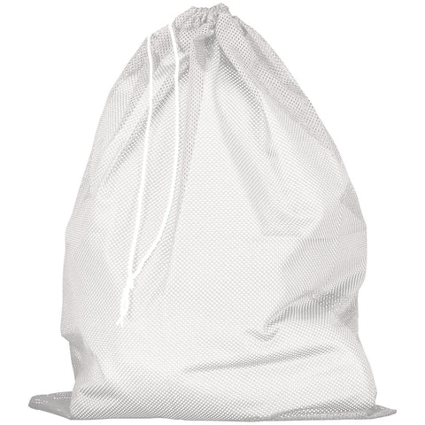 Russell MLB6B0 Mesh Laundry Bag - White - HIT A Double