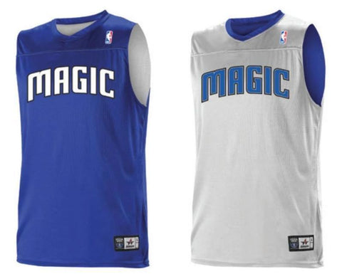 Alleson A105LA Adult NBA Logo Reversible Game Jersey - Orlando Magic