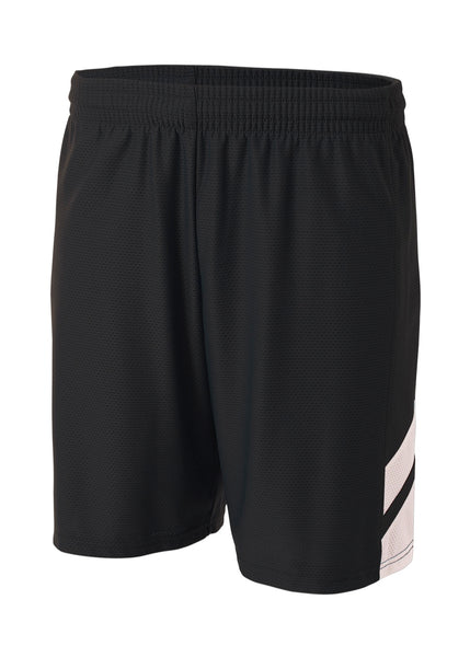 A4 NB5178 Fast Break Youth Short - Black White - HIT A Double