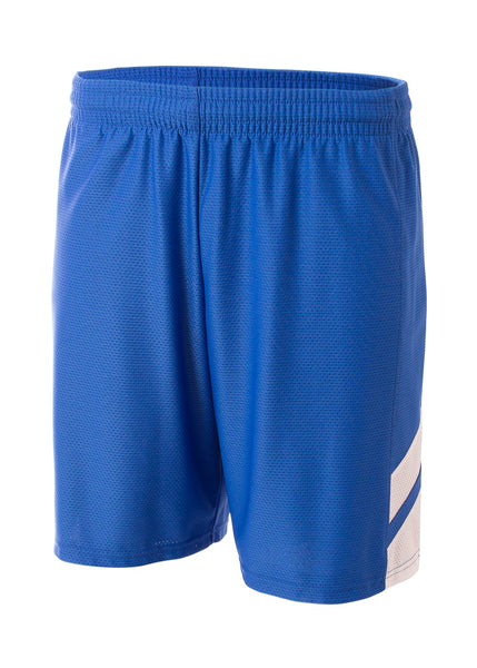 A4 NB5178 Fast Break Youth Short - Royal White - HIT A Double