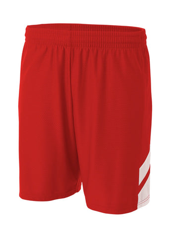 A4 NB5178 Fast Break Youth Short - Scarlet White - HIT A Double