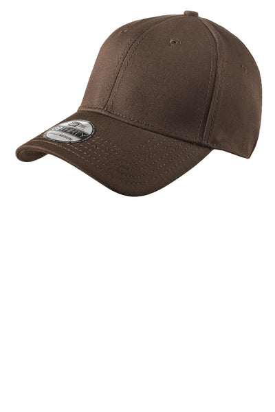 New Era NE1000 Structured Stretch Cotton Cap - Brown - HIT A Double
