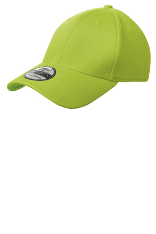 New Era NE1000 Structured Stretch Cotton Cap - Cyber Green - HIT A Double