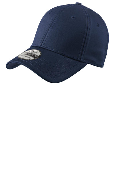 New Era NE1000 Structured Stretch Cotton Cap - Deep Navy - HIT A Double