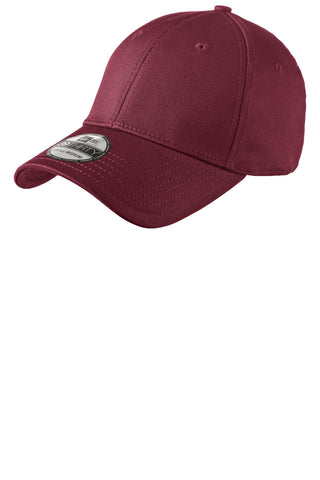 New Era NE1000 Structured Stretch Cotton Cap - Maroon - HIT A Double