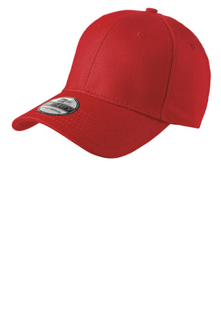 New Era NE1000 Structured Stretch Cotton Cap - Scarlet Red - HIT A Double