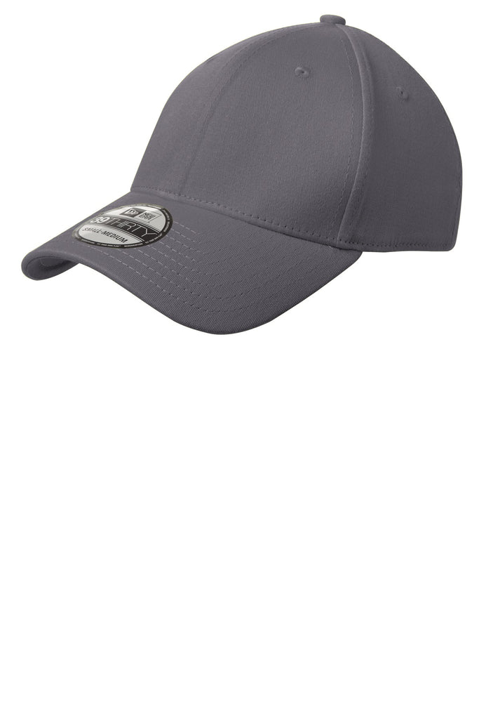 New Era NE1000 Structured Stretch Cotton Cap - Graphite - HIT A Double