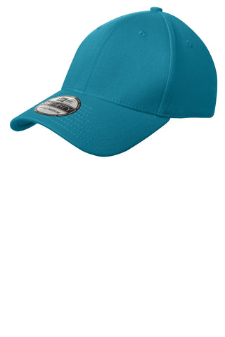 New Era NE1000 Structured Stretch Cotton Cap - Shark Teal - HIT A Double