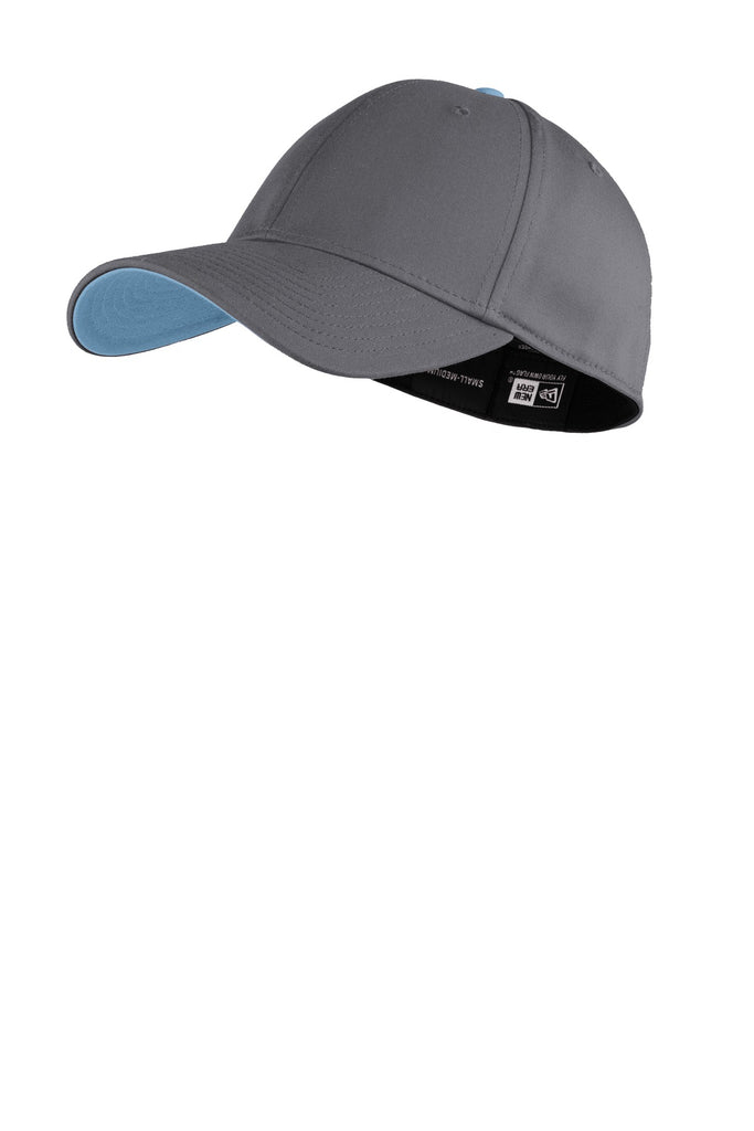 New Era NE1100 Interception Cap - Graphite Carolina Blue - HIT A Double