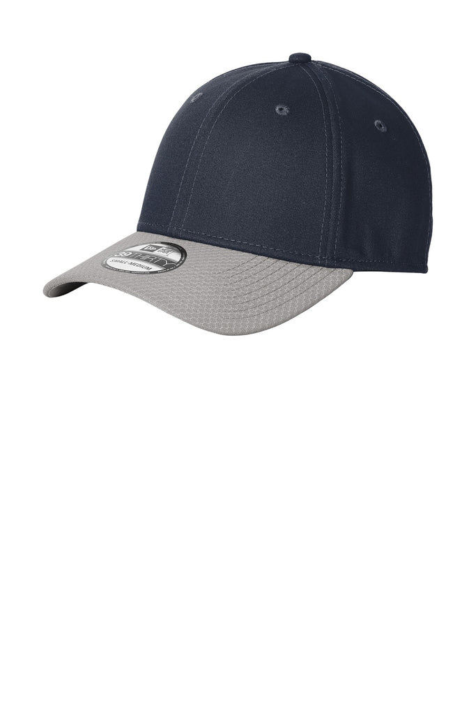 New Era NE1122 Stretch Cotton Striped Cap - Deep Navy Gray - HIT A Double