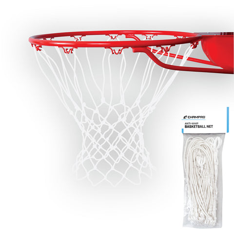 Champro NG02 Basketball Net Anti-Whip 110gr - White
